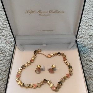 Fifth Avenue Necklace and Earring Set